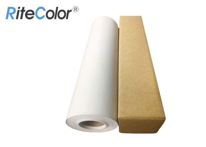 Waterproof Inkjet Cotton Canvas Inkjet Polyester Canvas Roll Matte Canvas Pinting Roll For Art Printing
