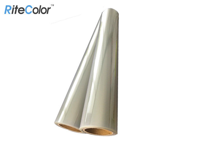 Waterproof Eco Solvent Translucent Polyester Film For Plate Making 100mic