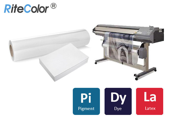 Transparent Inkjet Screen Printing Film For Pigment Dye Ink Printing ISO9001