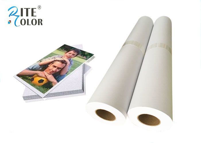 Premium Matte Coated Paper, Large Format Paper Roll For Poster Printing